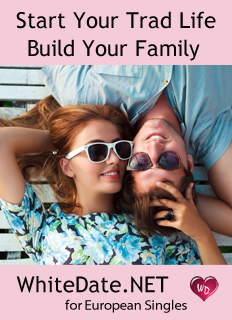 WhiteDate TradLife Ad