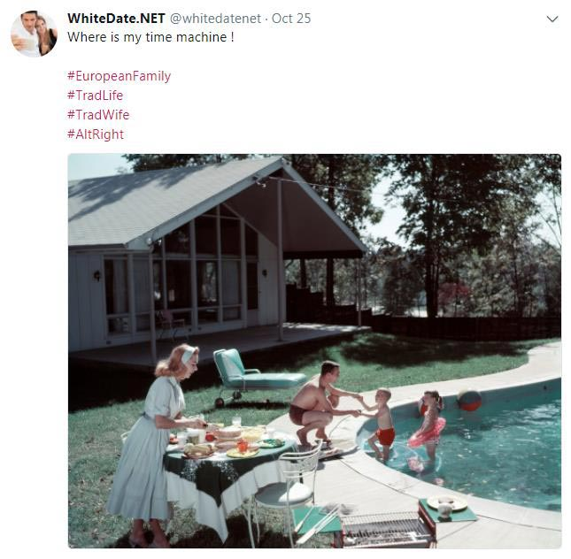 50s family life nostalgia, AltRight