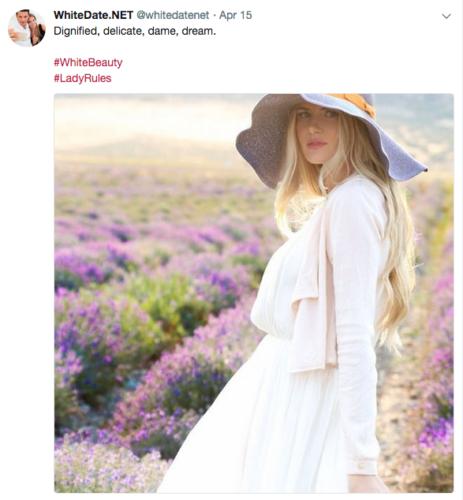 Lady Rule for white women, be feminine, elegant, dame