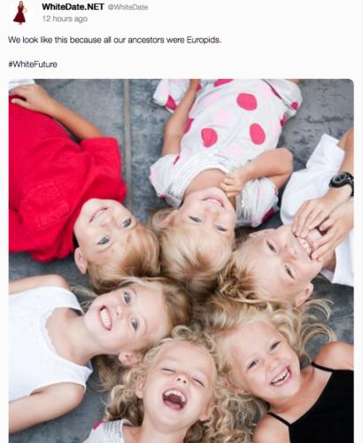 white children