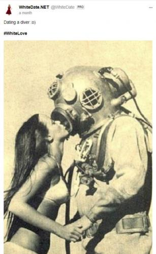 Dating a diver