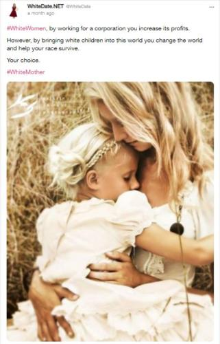 white mothers are our future, white dating, white love