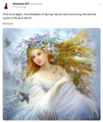 Ostara, goddess of fertility