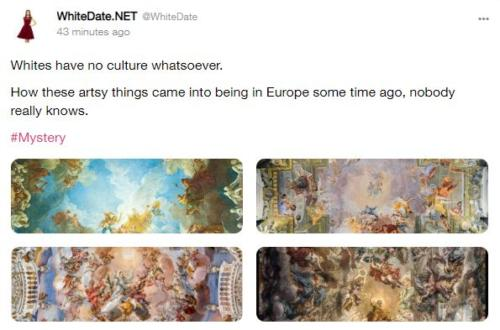 white genius, European art, European heritage
